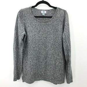Luxuriously Soft Gray Old Navy Split Hem Sweater L